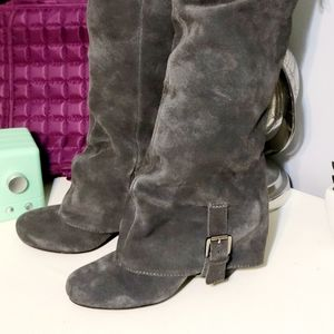 Naughty Monkey size 6.5 knee high boots